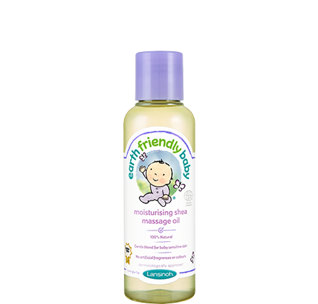 Lansinoh – Earth Friendly Baby hidratáló shea masszázsolaj (125ml)